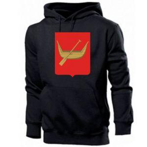 Men's hoodie Lodz coat of arms