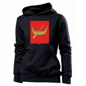 Women's hoodies Lodz coat of arms