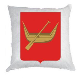 Pillow Lodz coat of arms