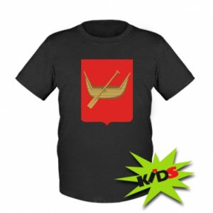Kids T-shirt Lodz coat of arms