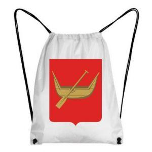 Backpack-bag Lodz coat of arms
