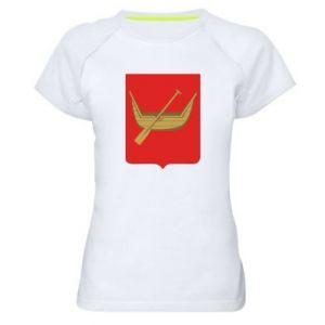 Women's sports t-shirt Lodz coat of arms