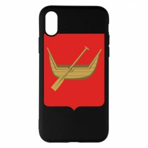 iPhone X/Xs Case Lodz coat of arms