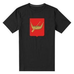 Męska premium koszulka Łódź  herb