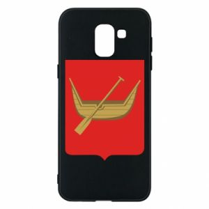 Phone case for Samsung J6 Lodz coat of arms