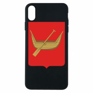 Phone case for iPhone Xs Max Lodz coat of arms