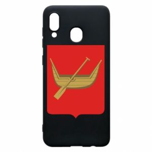Samsung A20 Case Lodz coat of arms