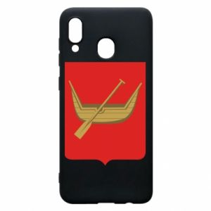 Samsung A30 Case Lodz coat of arms
