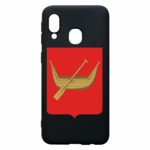 Samsung A40 Case Lodz coat of arms