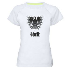 Women's sports t-shirt Lodz
