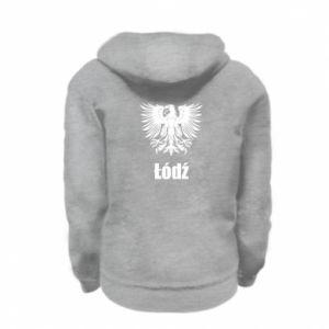 Kid's zipped hoodie % print% Lodz