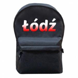 Plecak z przednią kieszenią Łódź