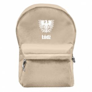 Backpack with front pocket Lodz