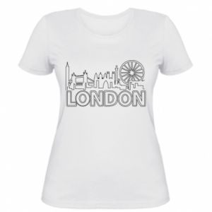 Women's t-shirt London
