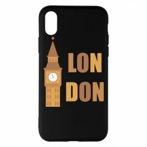 Phone case for iPhone X/Xs London