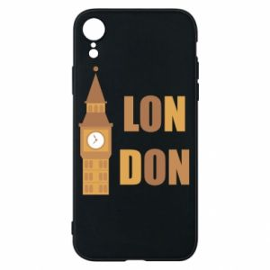 Phone case for iPhone XR London