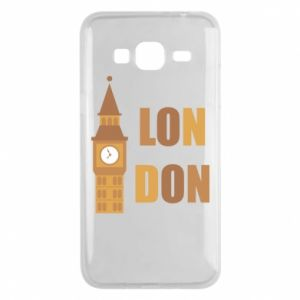 Phone case for Samsung J3 2016 London