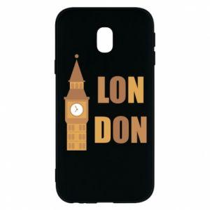 Phone case for Samsung J3 2017 London