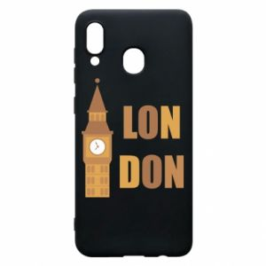 Phone case for Samsung A30 London