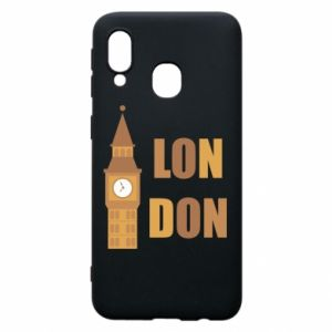 Phone case for Samsung A40 London