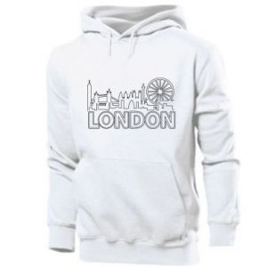 Męska bluza z kapturem London