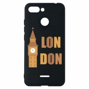 Phone case for Xiaomi Redmi 6 London