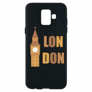 Phone case for Samsung A6 2018 London