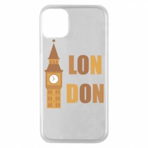 Phone case for iPhone 11 Pro London