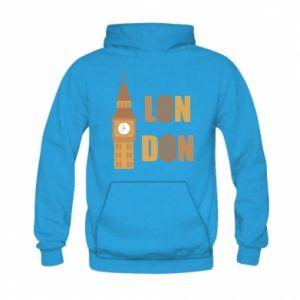 Bluza z kapturem dziecięca London