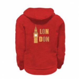 Bluza na zamek dziecięca London