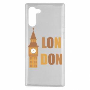 Etui na Samsung Note 10 London