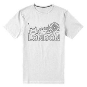 Męska premium koszulka London