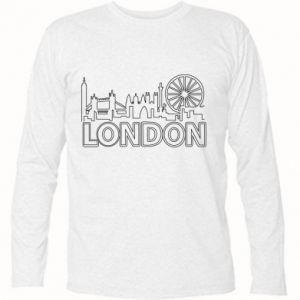 Koszulka z długim rękawem London