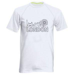 Męska koszulka sportowa London