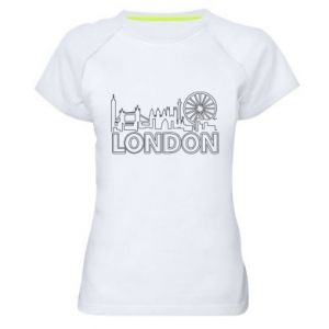 Damska koszulka sportowa London
