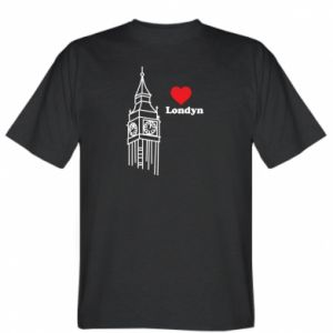 T-shirt London, I love you
