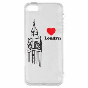 Etui na iPhone 5/5S/SE Londyn, kocham cię