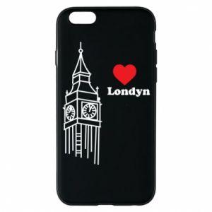 Etui na iPhone 6/6S Londyn, kocham cię