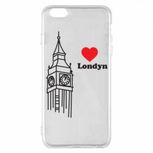 Etui na iPhone 6 Plus/6S Plus Londyn, kocham cię