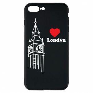Etui na iPhone 7 Plus Londyn, kocham cię