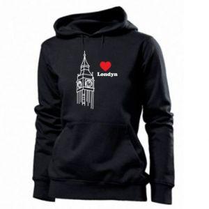Damska bluza Londyn, kocham cię