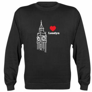 Bluza (raglan) Londyn, kocham cię