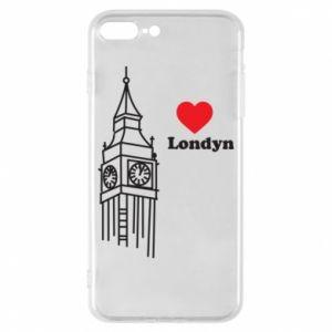 Etui na iPhone 8 Plus Londyn, kocham cię