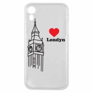 Etui na iPhone XR Londyn, kocham cię