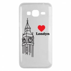 Etui na Samsung J3 2016 Londyn, kocham cię