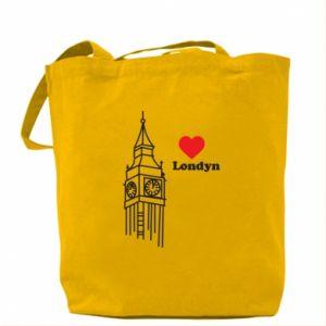 Torba Londyn, kocham cię