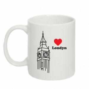 Mug 330ml London, I love you