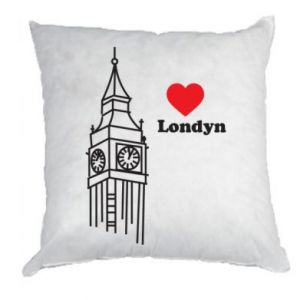 Poduszka Londyn, kocham cię