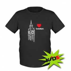 Kids T-shirt London, I love you
