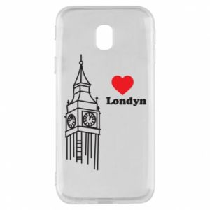 Etui na Samsung J3 2017 Londyn, kocham cię